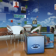 Hospital Indoor Custom Decorative Wall Laminate