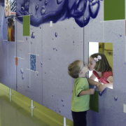 Hospital Decorative Custom Wall Sign with Children