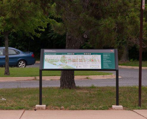 National Mall Wayfinding Signage, Washington, D.C.