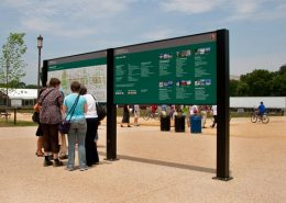 National Mall Wayfinding Signage, Washington, D.C.