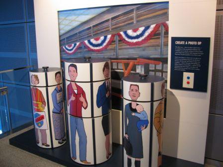 Indoor Custom Interactive Display in Museum Exhibit