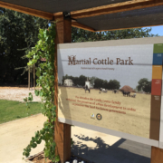 Outdoor Park Laminated Sign