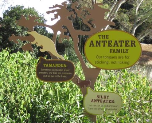 Zoo Outdoor Wayfinding Sign