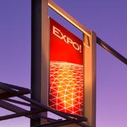 Custom Laminated Expo Logo Sign