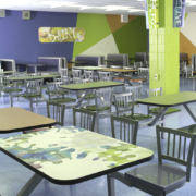 Indoor Wall Laminate at Union Hill High School