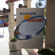 Boundless Energy Information Graphic Sign