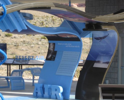 Outdoor Custom Graphic Signs at Red Rock Canyon National Conservation Area