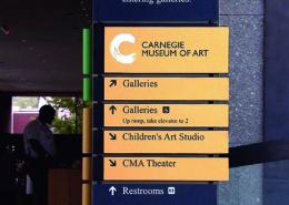 Custom Indoor Wayfinding Sign