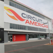 Circut of Americas Logo Outdoor Custom Sign