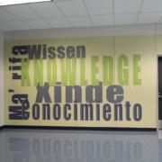 Indoor Custom Graphic Wall Sign