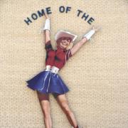 Laminate Outdoor Sign of Dancer at Kilgore College
