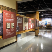 Wright Brothers National Memorial Visitor Center Hall Exhibit