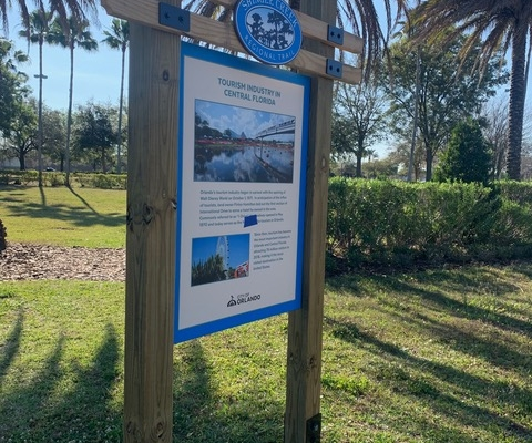 Shingle Creek - Interpretive Sign