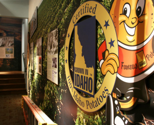 Idaho State History Museum Potato