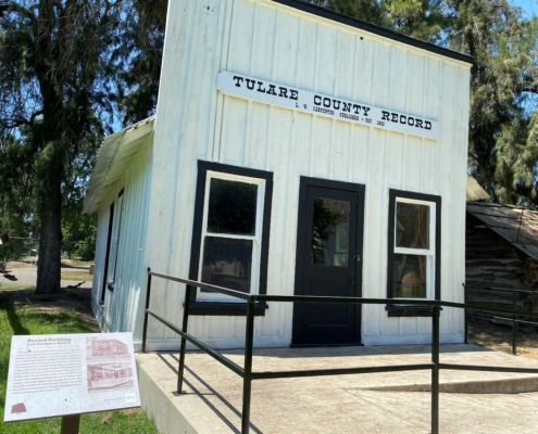 Tulare County record building